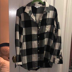Old Navy Buffalo Plaid Classic Shirt NWOT